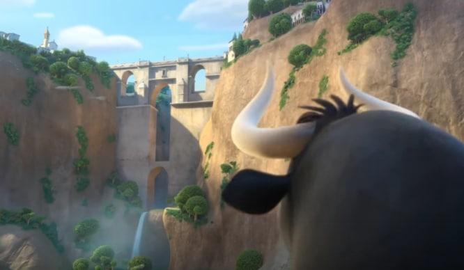 Andalucía aparecerá en 'Ferdinand', la película de animación de un toro antitaurino