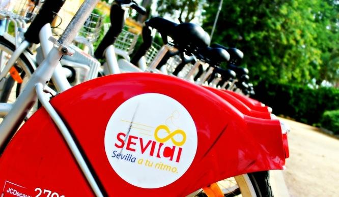 Llegan las bicis eléctricas a Sevilla