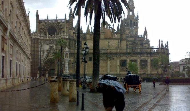 Adiós sol y terracitas, ¡bienvenida la lluvia y el mal tiempo!
