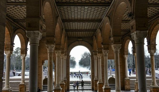 15 imágenes de Roxa Claraco para hacer un tour por la Plaza de España