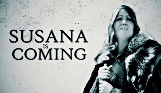 Susana Díaz es la nueva Khaleesi andaluza en esta parodia de Joaquín Reyes