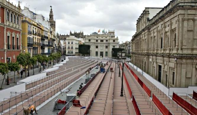 ¿Sabes cuánto cuesta una silla y un palco en la Semana Santa de Sevilla?