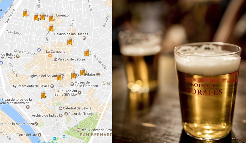 'Beer' para creer: os traemos el mapa más cervecero de Sevilla