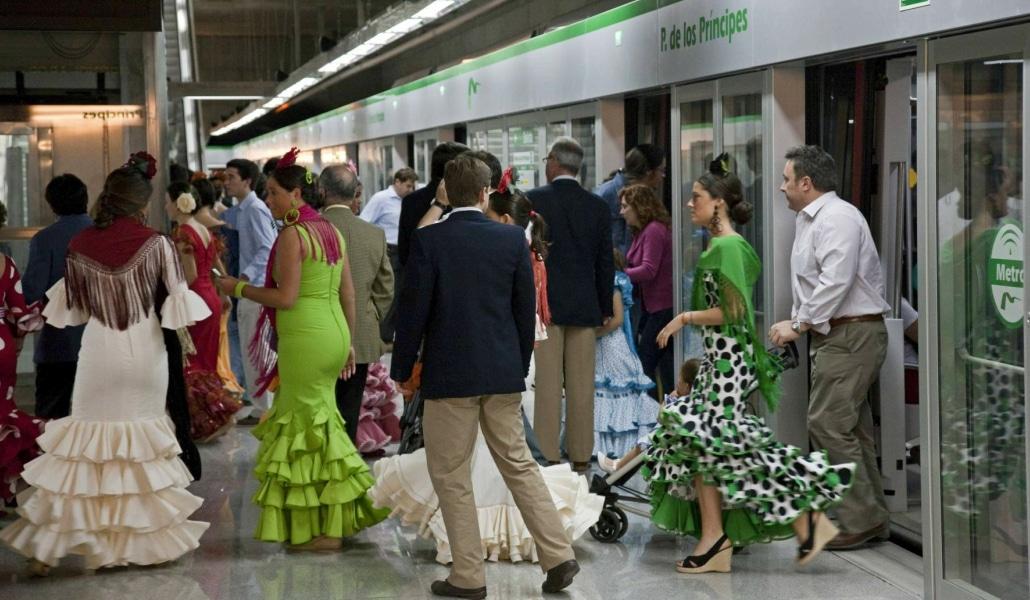 Los trabajadores de Metro de Sevilla convocan huelga para la Feria de Abril