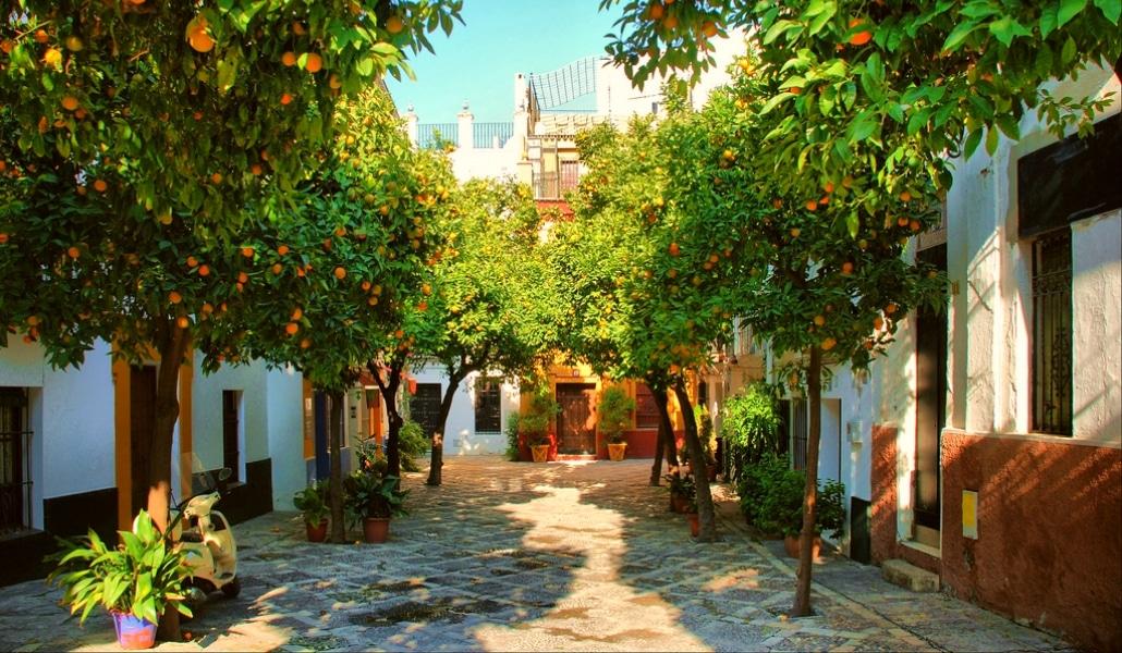 15 imágenes que te muestran qué «color especial» tiene Sevilla