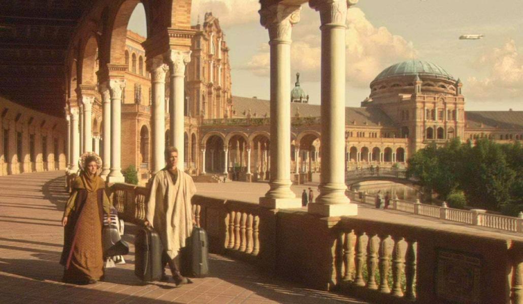 La Plaza de España, en el ránking de escenarios de cine