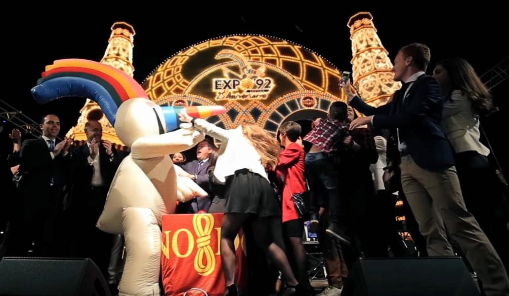 ¿Qué os pareció el Alumbrao de la Feria con Curro?