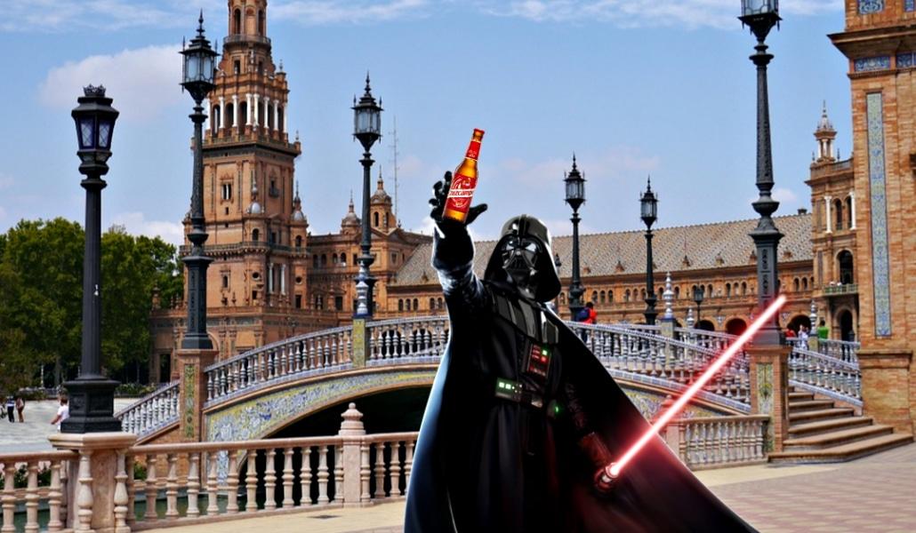 Cómo es la vida en Sevilla según Star Wars