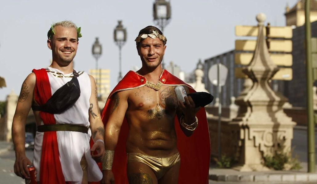 Las mejores imágenes del Orgullo Gay de Sevilla 2017