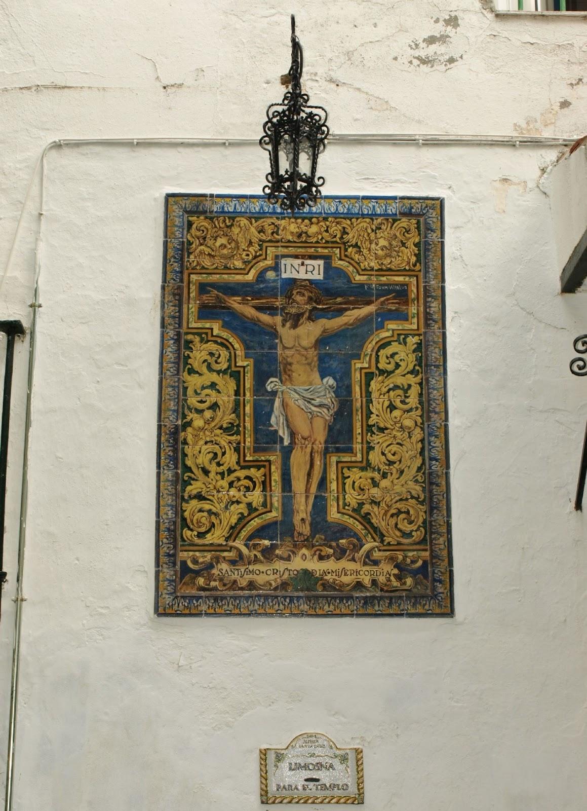Retablo Cristo de la Misericordia Sevilla