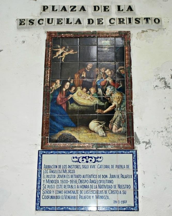 Plaza de la Escuela de Cristo Sevilla