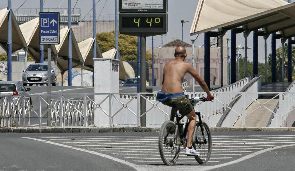 Alerta naranja por la segunda ola de calor en Sevilla