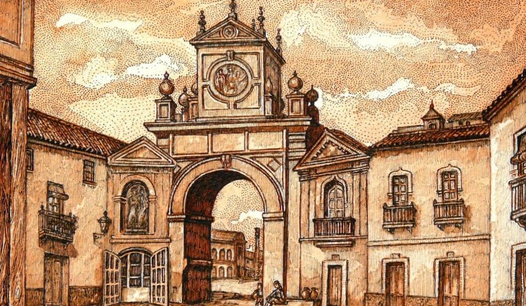 Los vecinos del Museo quieren que se reconstruya la Puerta Real