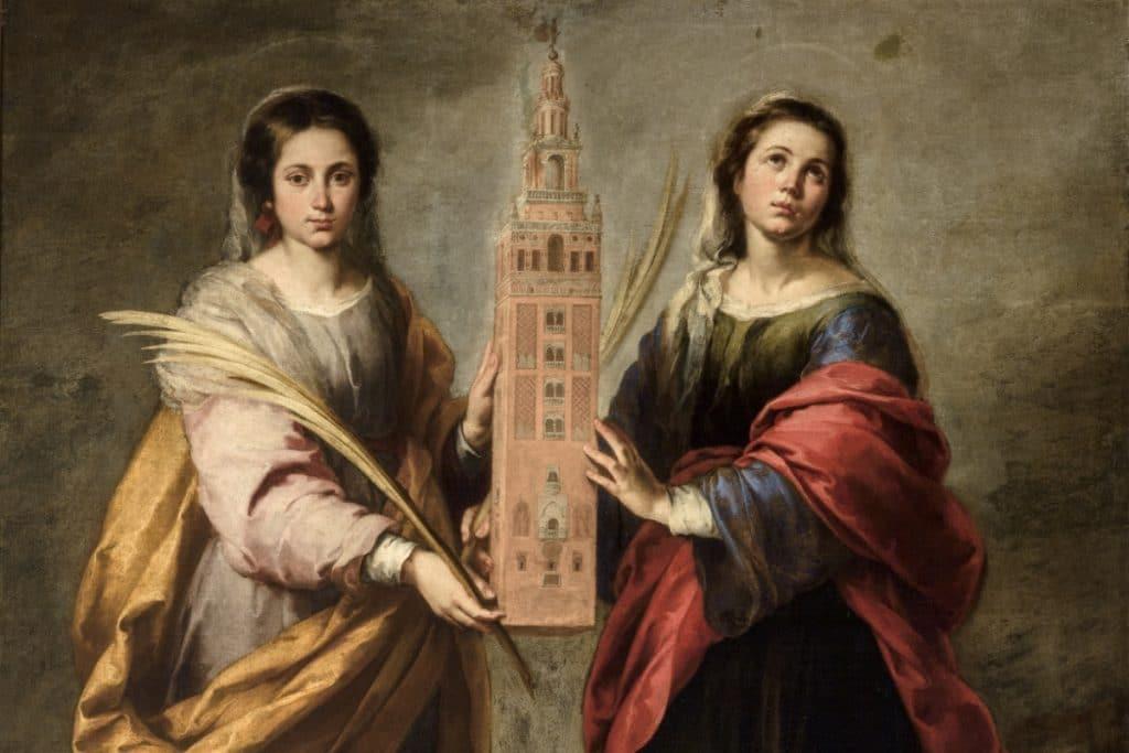 ¿Quiénes fueron Santa Justa y Santa Rufina, patronas de Sevilla?