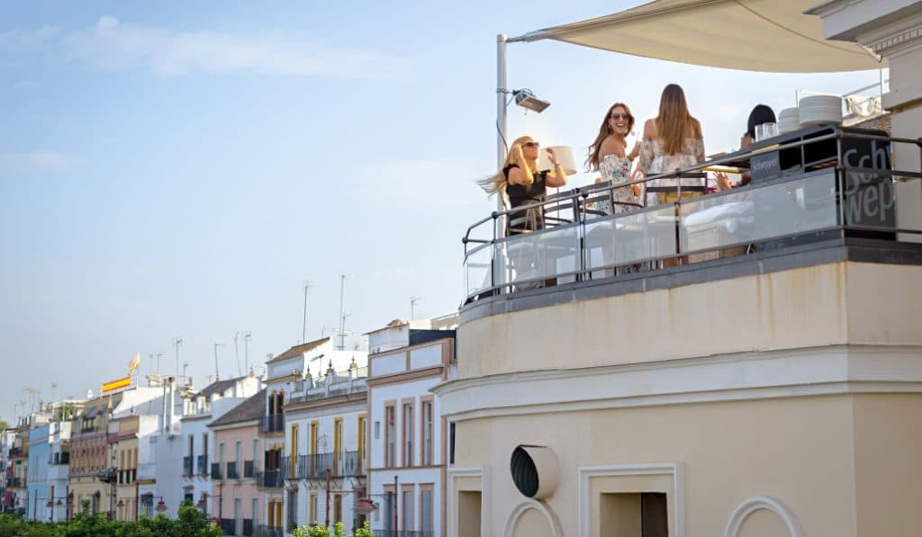 11 terrazas de Sevilla que son auténticos oasis urbanos