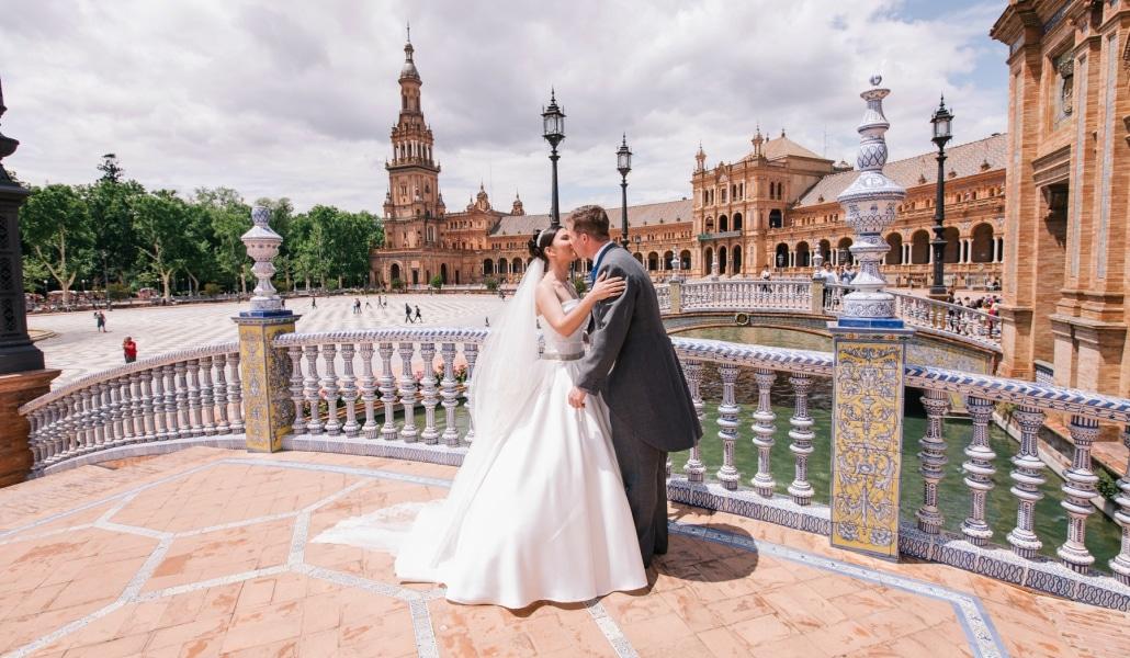 Dime cómo eres y te diré dónde debes casarte en Sevilla