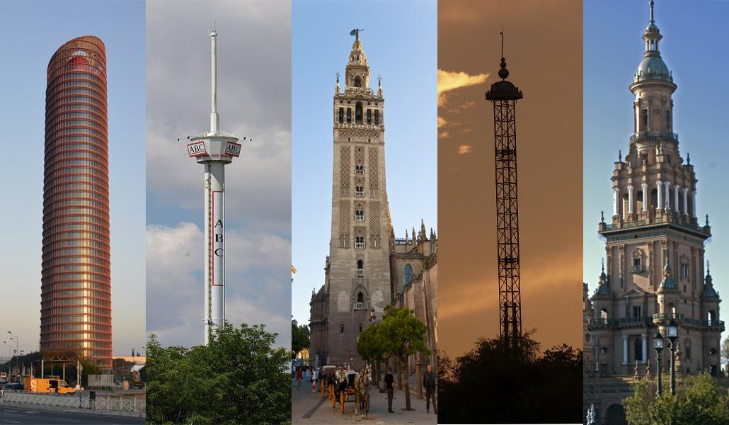 Los 10 edificios más altos de Sevilla