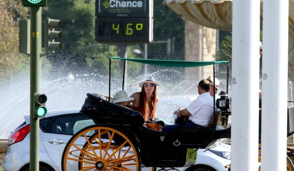 Este fin de semana vuelven las altas temperaturas a Sevilla