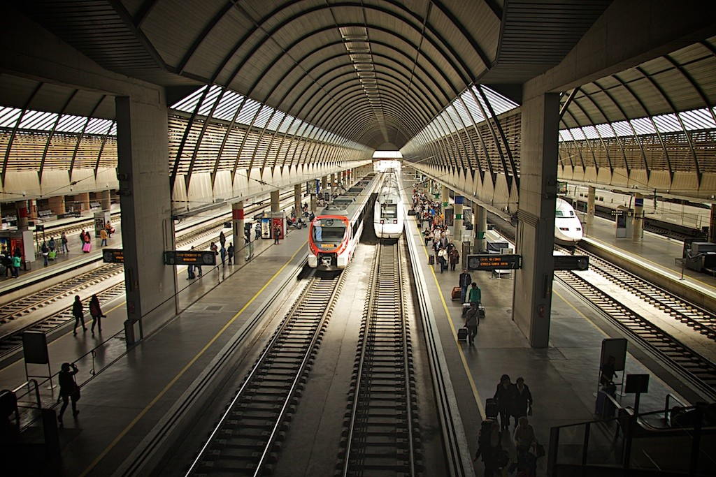 Estación de Santa Justa Renfe