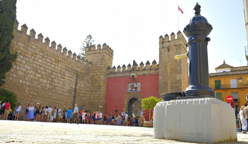 Sevilla duplicará el número de fuentes en el centro