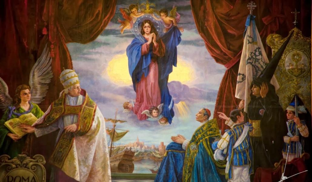 La historia del cuadro de la Inmaculada Concepción en Sevilla