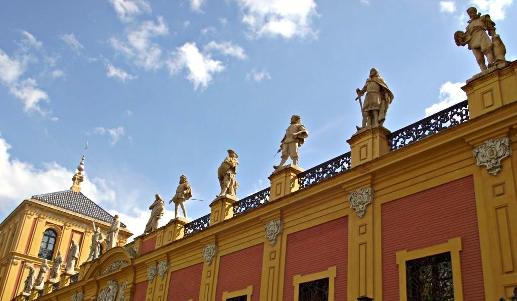 La Galería de los Doce Sevillanos Ilustres