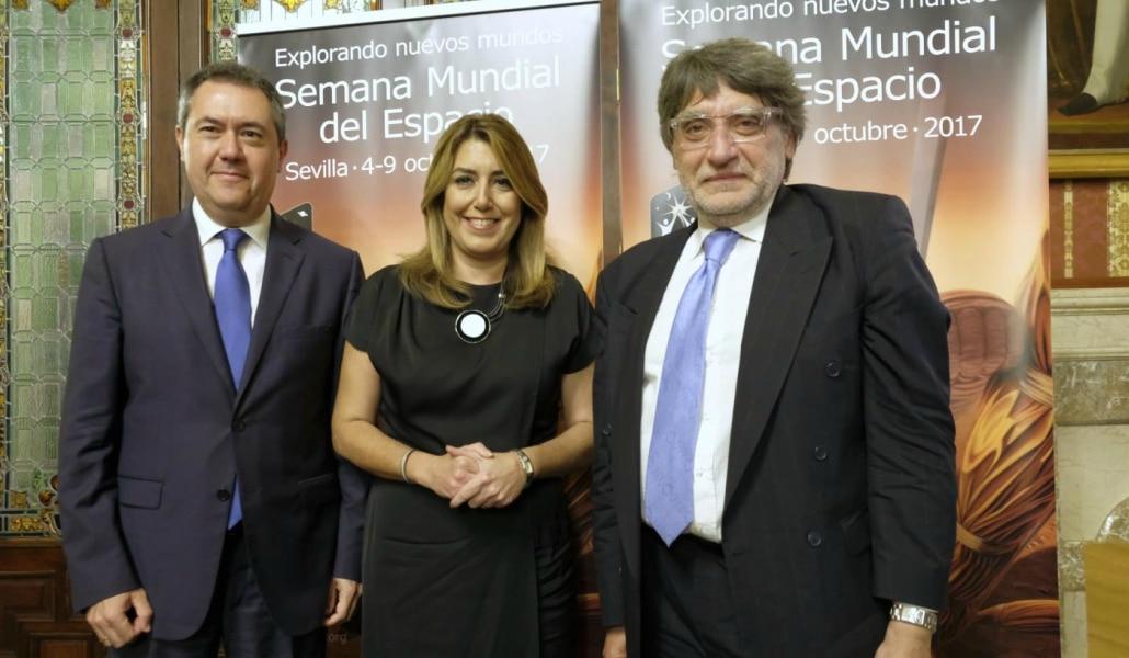 Sevilla será capital del espacio en 2019