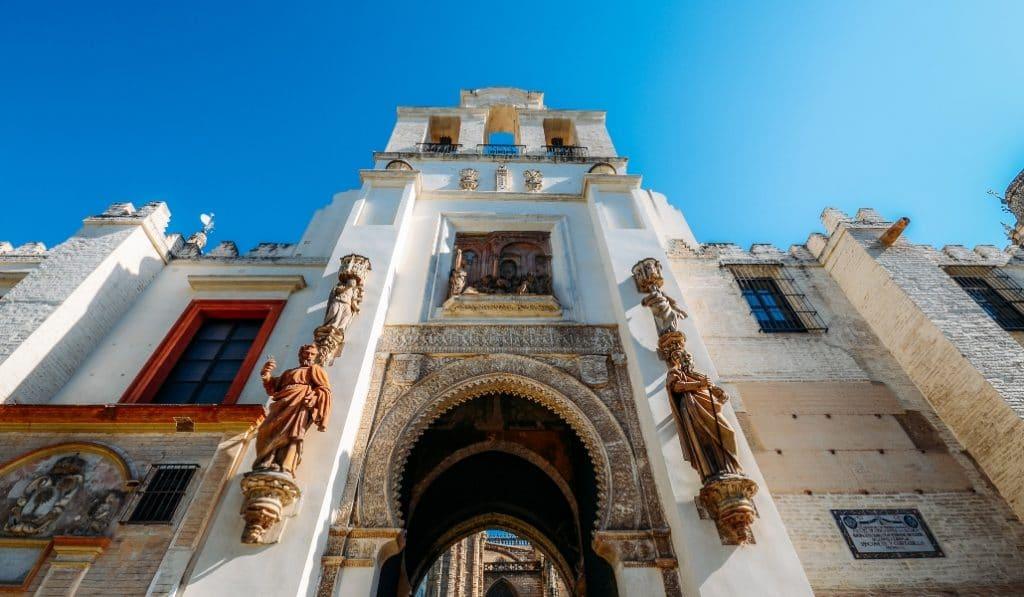 Curiosidades de la Puerta del Perdón de la Catedral de Sevilla