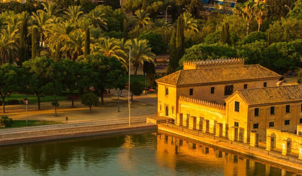 La historia del Palacio de la Buhaira y sus jardines