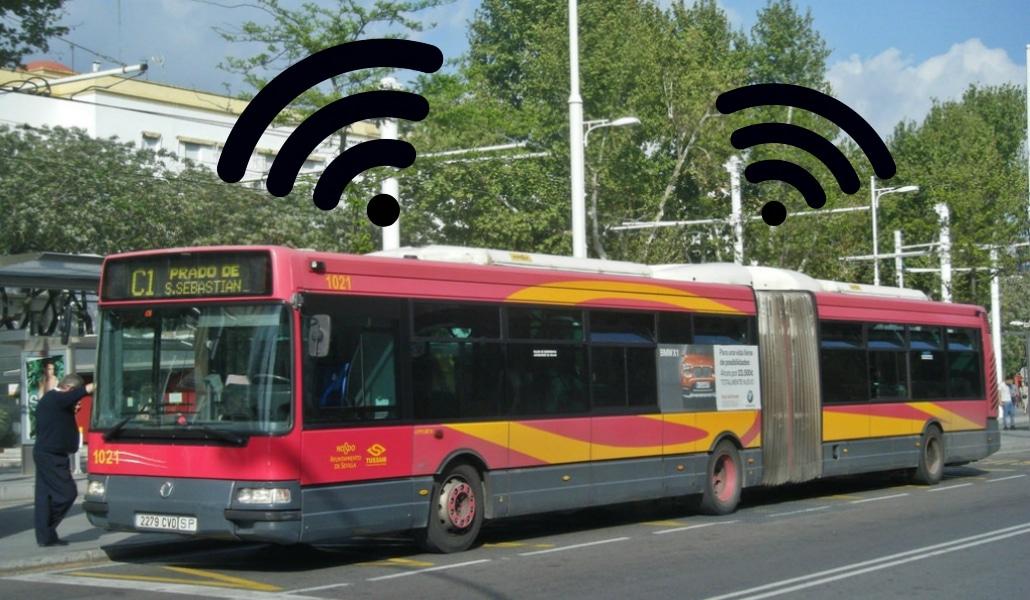 Los autobuses de Tussam tendrán wifi gratis