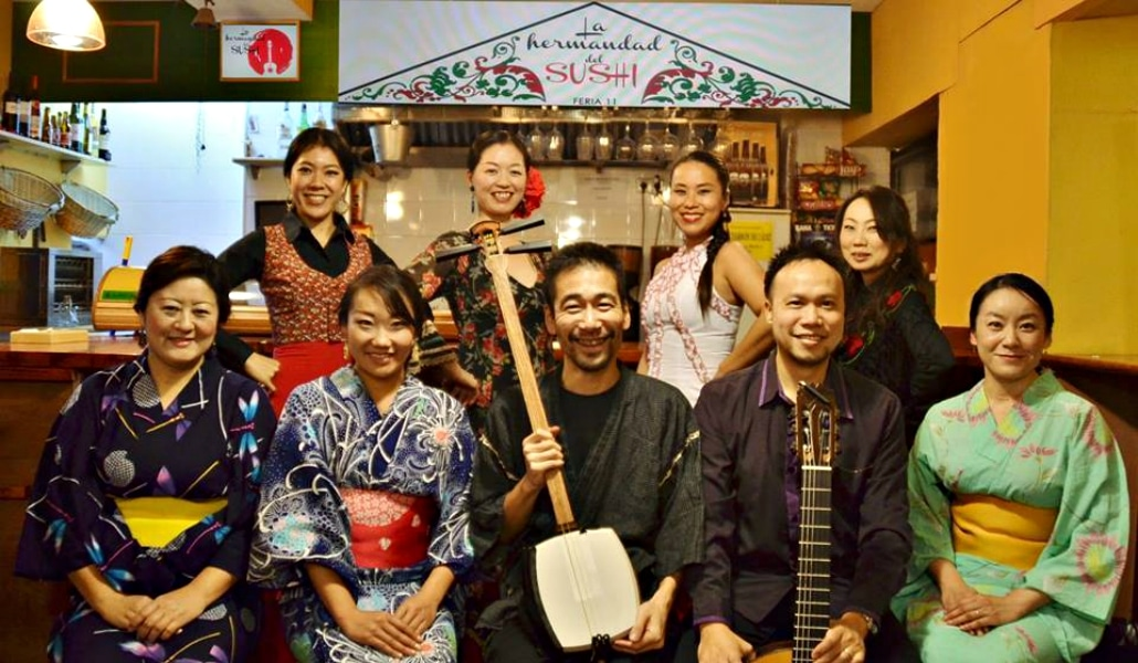 La Hermandad del Sushi: el restaurante japonés de Sevilla con más arte