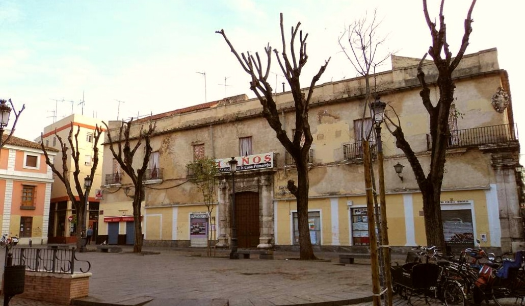 La Casa Palacio del Pumarejo, un monumento en deterioro