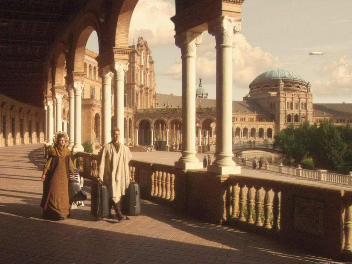 Sevilla, escenario de más de 100 rodajes