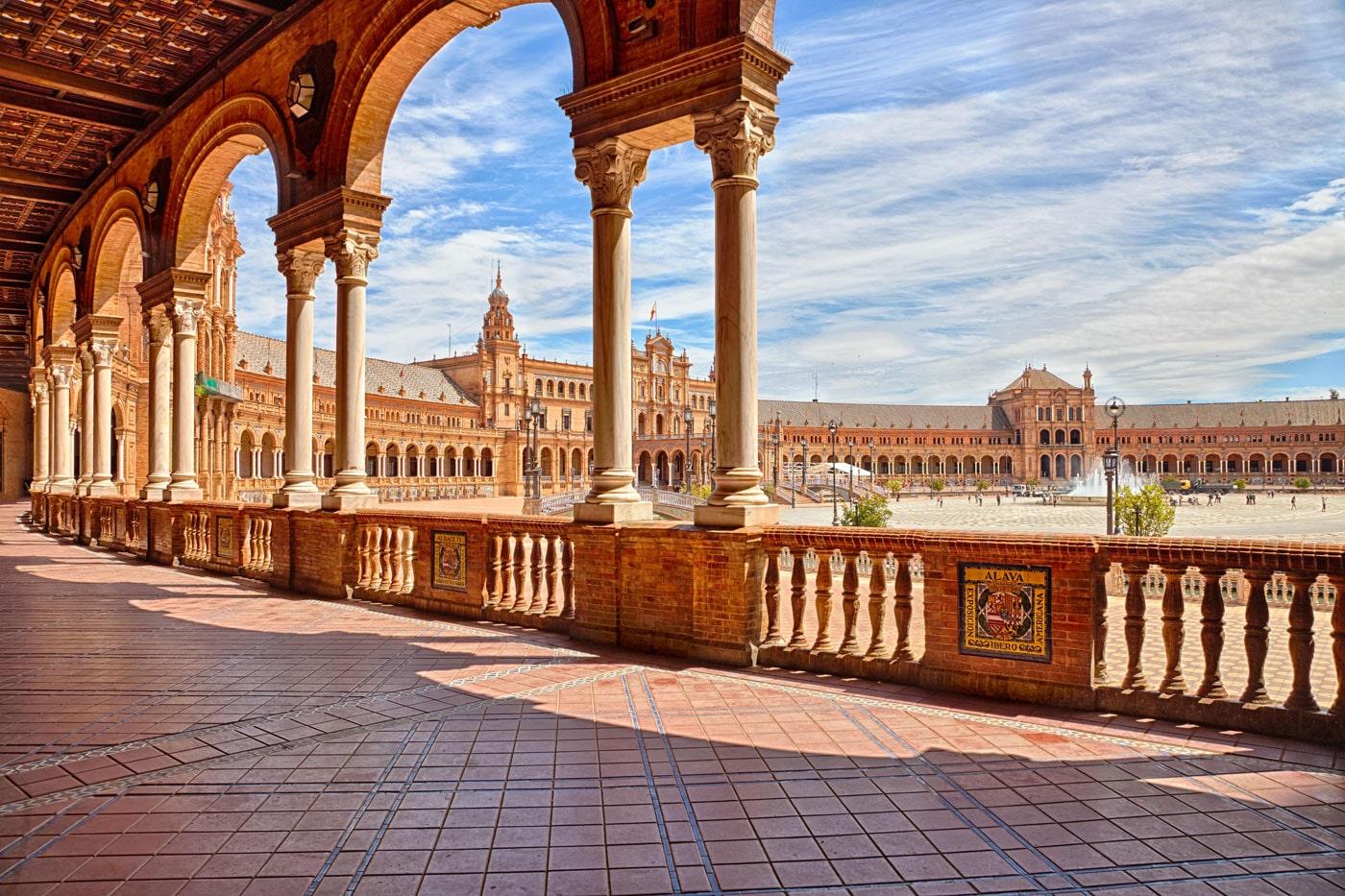 La Plaza de España se reconoce como tesoro del cine