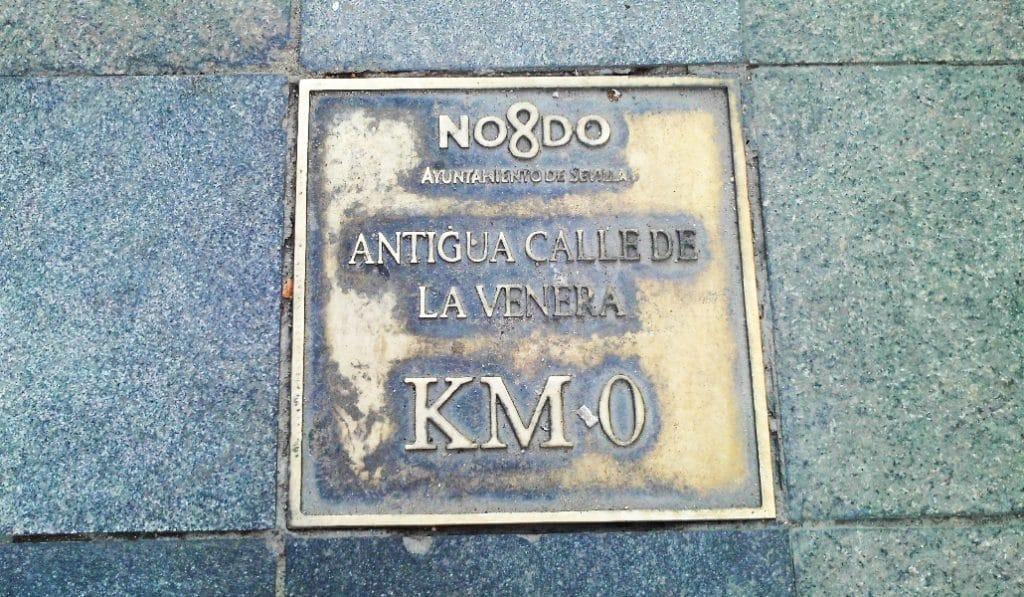 Sevilla también tiene un Kilómetro Cero