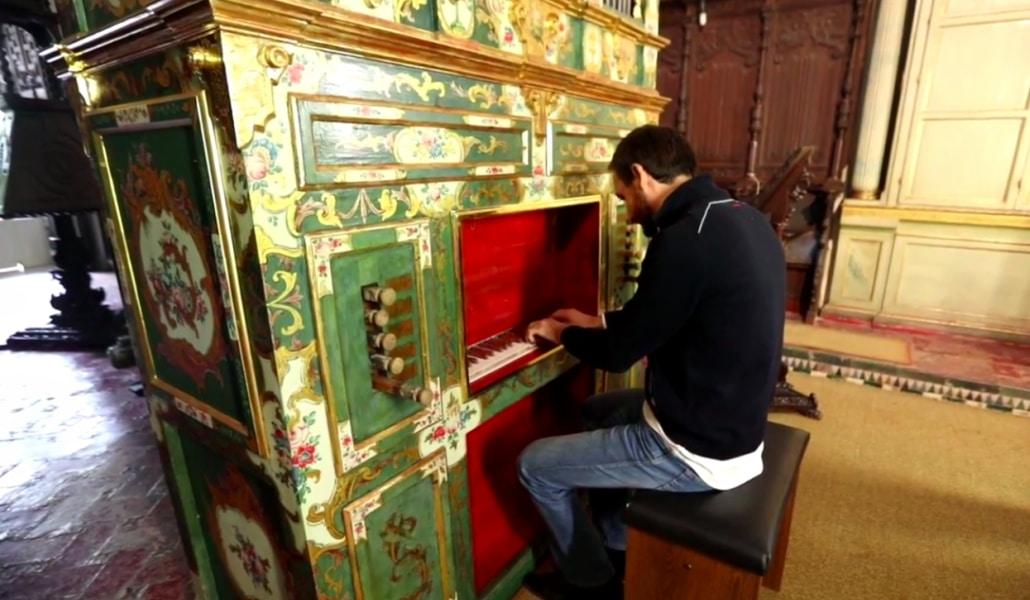 El órgano de Santa Inés vuelve a casa tras la multa de la Junta