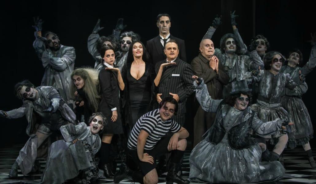 El musical de 'La familia Addams' llegará a Sevilla en mayo