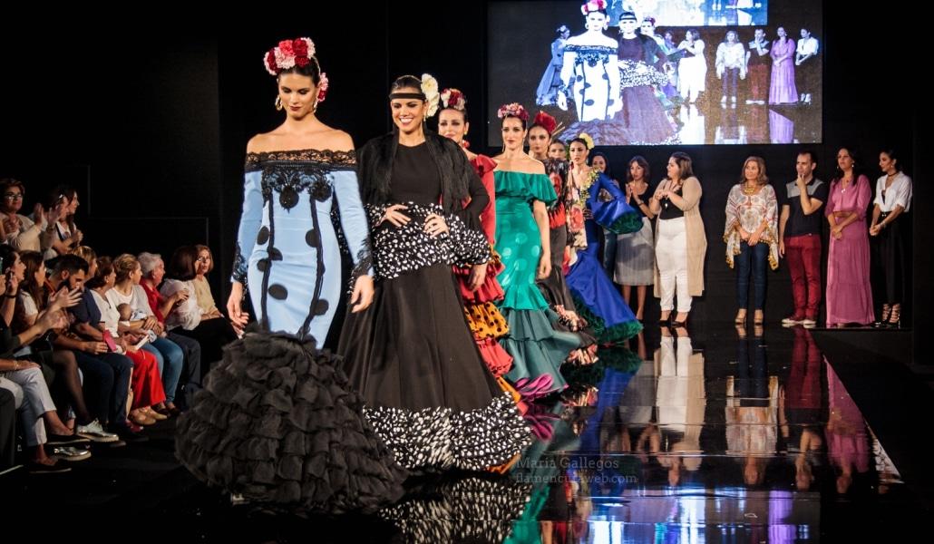 Los diseñadores de flamenco más 'amateur' se dan cita en Sevilla