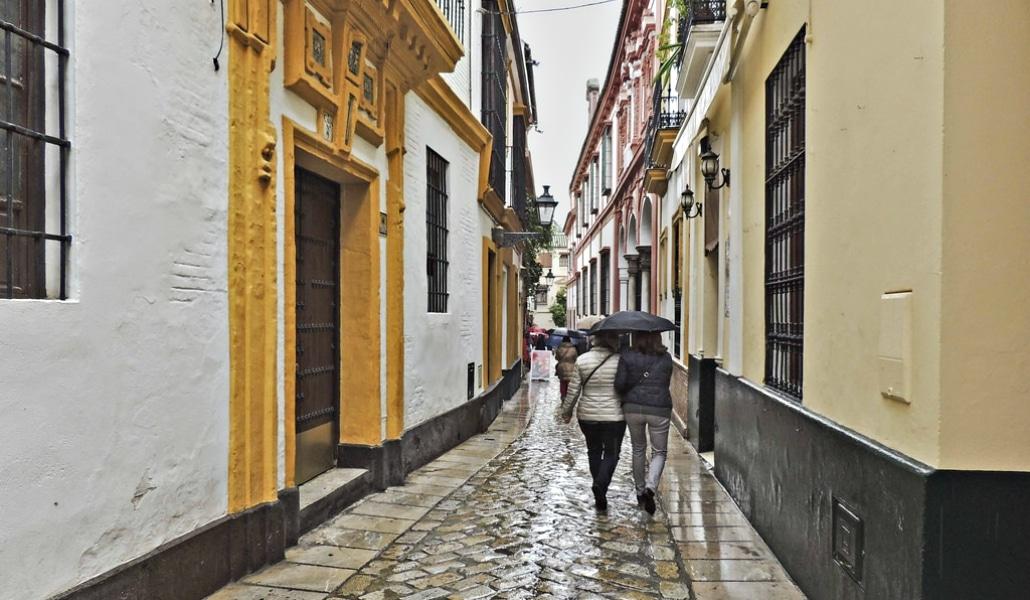 Sevilla tiene el comienzo de año más húmedo de la década