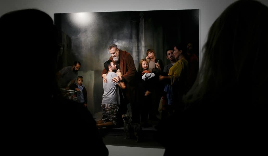 Una exposición recrea en fotografía los cuadros de Murillo