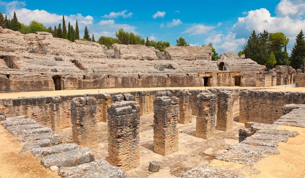 El anfiteatro de Itálica se reformará para protegerlo de la lluvia
