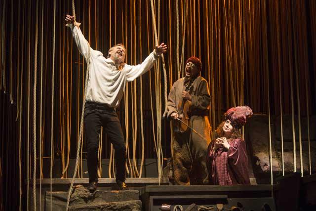 Teatro La otra mano de Cervantes