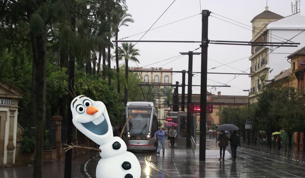 El frío polar llega a Sevilla