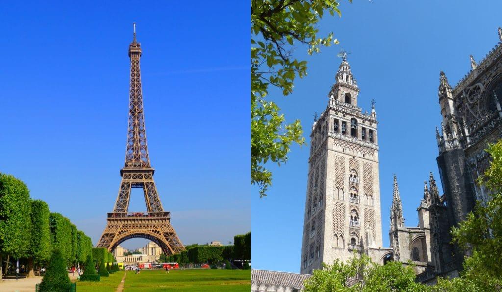 ¿Qué tienen en común Sevilla y París?