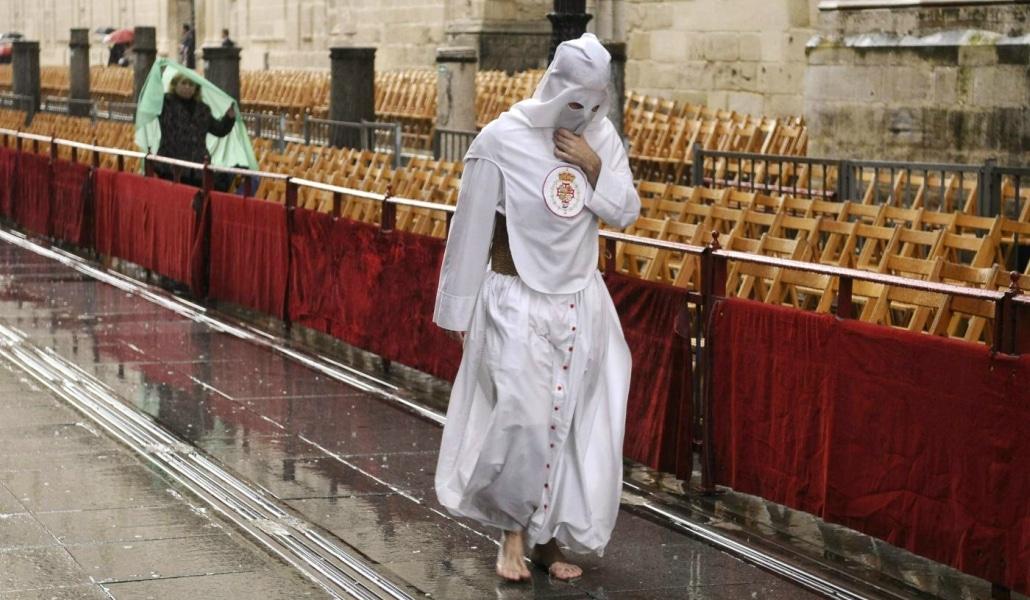 La Semana Santa será seca y fría con agua para el Viernes de Dolores