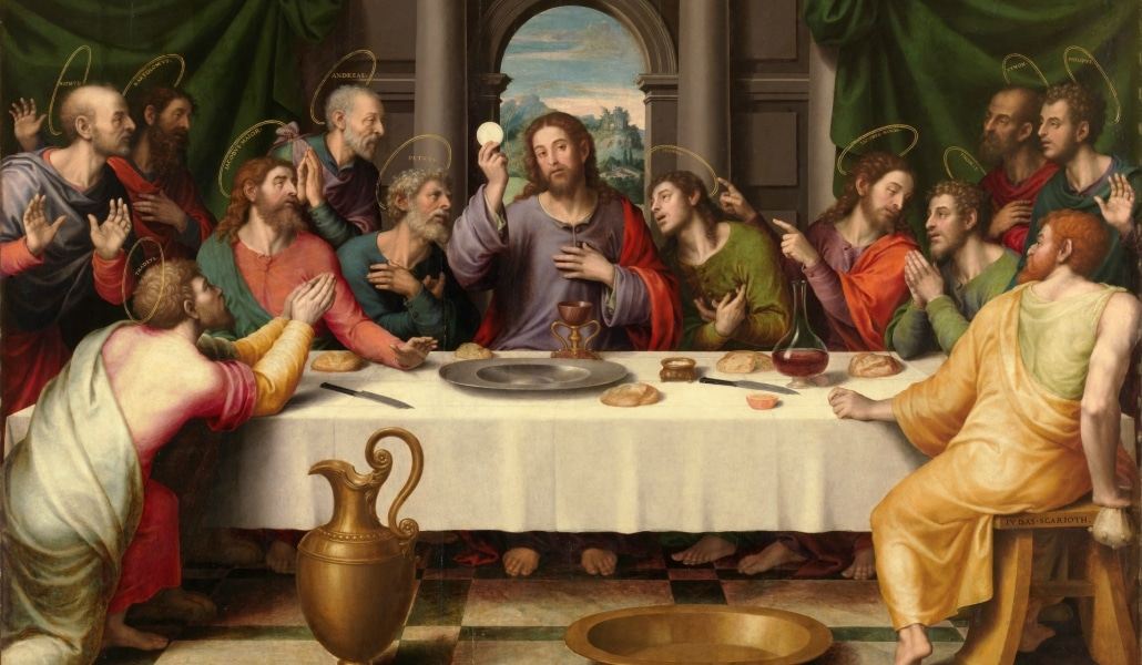 La Última Cena de Jesucristo se sirve en un restaurante de Sevilla