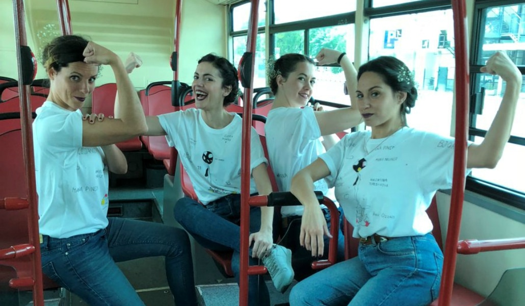 'Ruta por la igualdad', microteatro en líneas de Tussam
