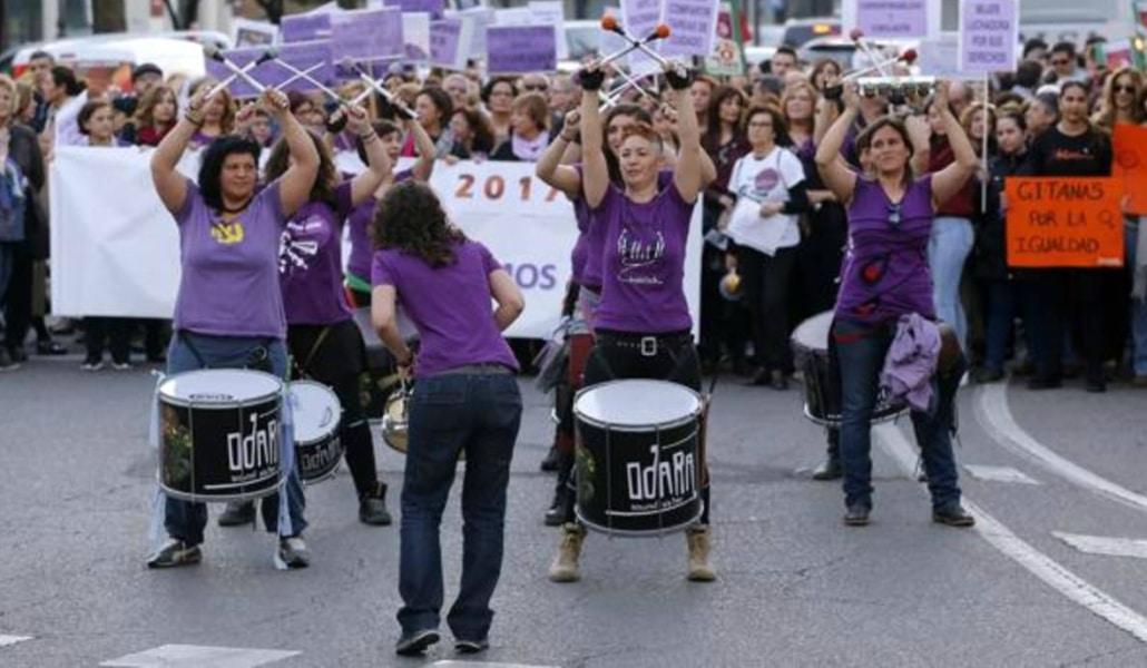 Sevilla se manifiesta por el Día Internacional de la Mujer