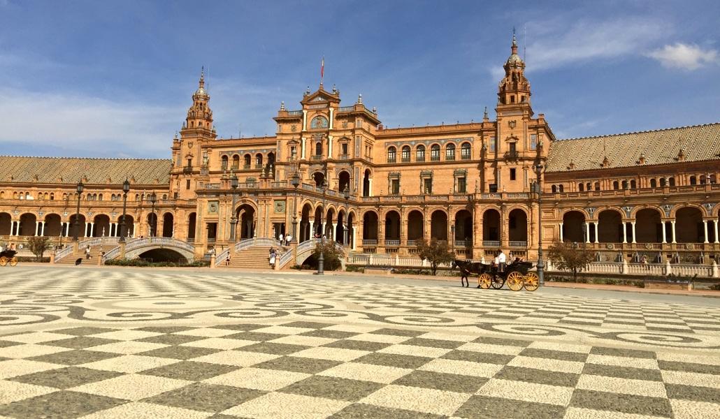 La Plaza de España, el segundo lugar más espectacular del mundo
