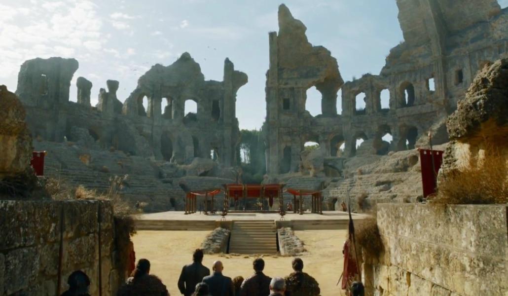 Itálica cierra hasta el 18 de mayo por el rodaje de 'Juego de Tronos'